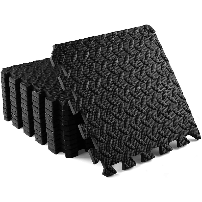 Permalink to 48PCS 300x300x12mm Home Gym Thicken EVA Foam Mat Play Puzzle Mats Exercise Tiles Floor Cushion Yoga Room Fitness Equipment