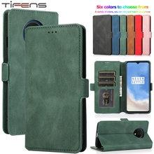 Luxus Haut Leder Flip Karten Brieftasche Für OnePlus Nord Z 5G Fall Für OnePlus 7 7T 8 Pro stehen Halter Telefon Abdeckung Etui Coque Tasche