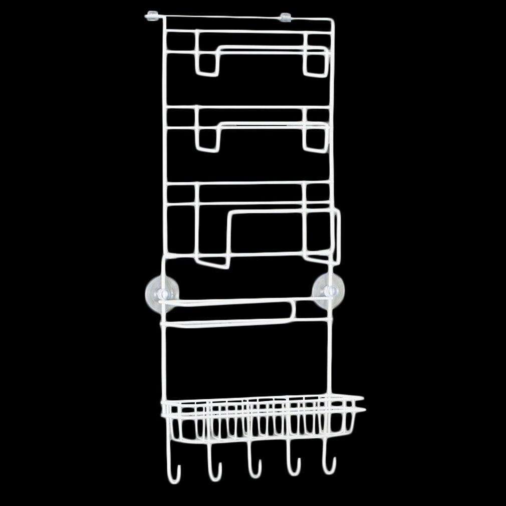 Refrigerator Multi-layer Refrigerator Side Shelf Holder Multifunctional Kitchen Supplies Organizer With Suction Cups