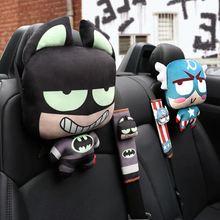 1 шт чехол для ремня безопасности super hero автомобильный протектор