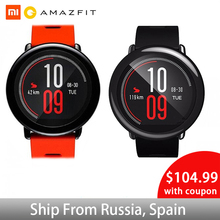 Xiaomi Smartwatch Amazfit Pace Bluetooth 4.0 Sports Smart Watch GPS Push Heart Rate Intelligent Monitor huami Smart Watch [english version]xiaomi huami amazfit pace sports smart watch bluetooth 4 0 wifi dual core 1 2ghz 512mb 4gb gps heart rate watch