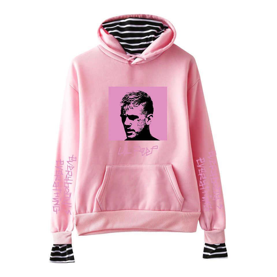 2020 힙합 Lil Peep Hoodies 지옥 소년 Lil.peep 남성 여성 후드 풀오버 남성 여성 Sudaderas Cry Baby Hood Hoddie Sweatshirts