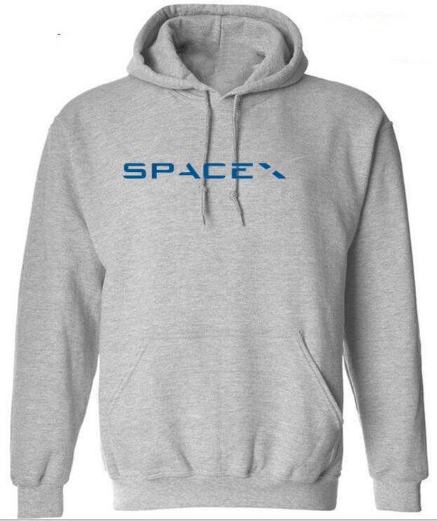 Hot Sale SpaceX Logo Hoodies Men's Popular Custom Boyfriend's Plus Size Sweatshirts XS-4XL 2020
