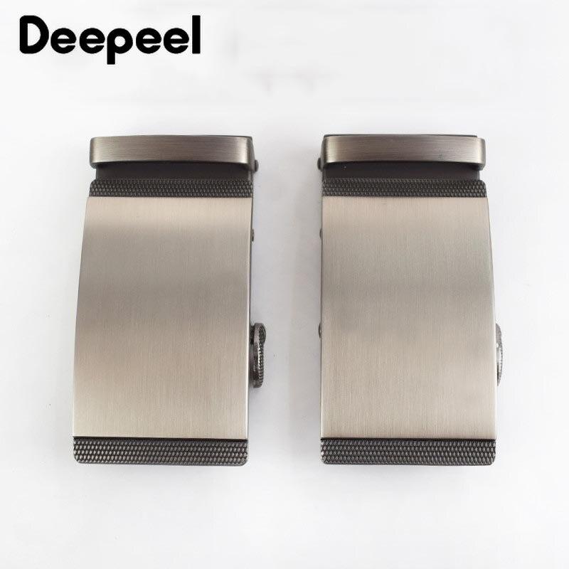 Deepeel 1/2pcs Men 's Belt Alloy Automatic Buckle Men's Fashion Leather Belt Buckle Head Men's Belt Jeans Accessories Belt AP390