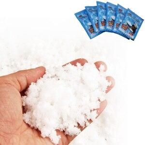 Image 2 - Magic Núi Tuyết Mô Hình Hóa Chất Nhờn Lông Tơ Polymer Đất Sét Quyến Rũ Chất Độn Thêm Cho Chất Nhờn Bùn Hạt Phụ Kiện Antistress Đồ Chơi