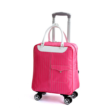New Fashion Hot Selling Female Luggage Trolley Case Luggage Brand Casual Solid Color Luggage Suitcase Wheeled Luggage suitcase фото