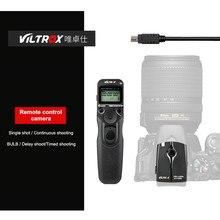 Controle remoto para câmera viltrox JY 710, temporizador com câmera wireless para canon 5diii 6d2 nikon d810 panasonic gh5 g10 sony a9 a7m