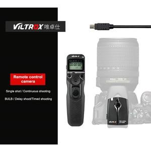 Image 1 - Viltrox JY 710 Camera Draadloze Timer Afstandsbediening Ontspanknop Voor Canon 5 Diii 6D2 Nikon D810 Panasonic GH5 G10 Sony a9 A7M