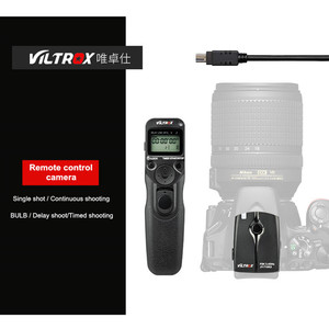 Image 1 - Viltrox JY 710 Camera Wireless Timer Remote Shutter Release Control for Canon 5DIII 6D2 Nikon D810 Panasonic GH5 G10 Sony A9 A7M
