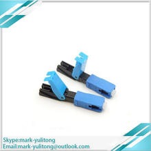 50/100/200/300 pcs. FTTH SC UPC Fiber Optic Wire SC UPC Quick Connector FTTH Fiber Optic Fast Wire SC SC Connector