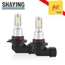 SHAYING X3 Serie 2 Pcs Super Helle H16(jp) h8/9/11 H7 9005 HB3 9006 HB4 6500K LED Auto Nebel Lichter Lampe 6500k 12V Wasserdicht