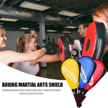 Профессиональная мишень для ног, Классический Тонкий тхэквондо, кикпад, щит для детей и взрослых, тренировочный боксерский коврик для карат...