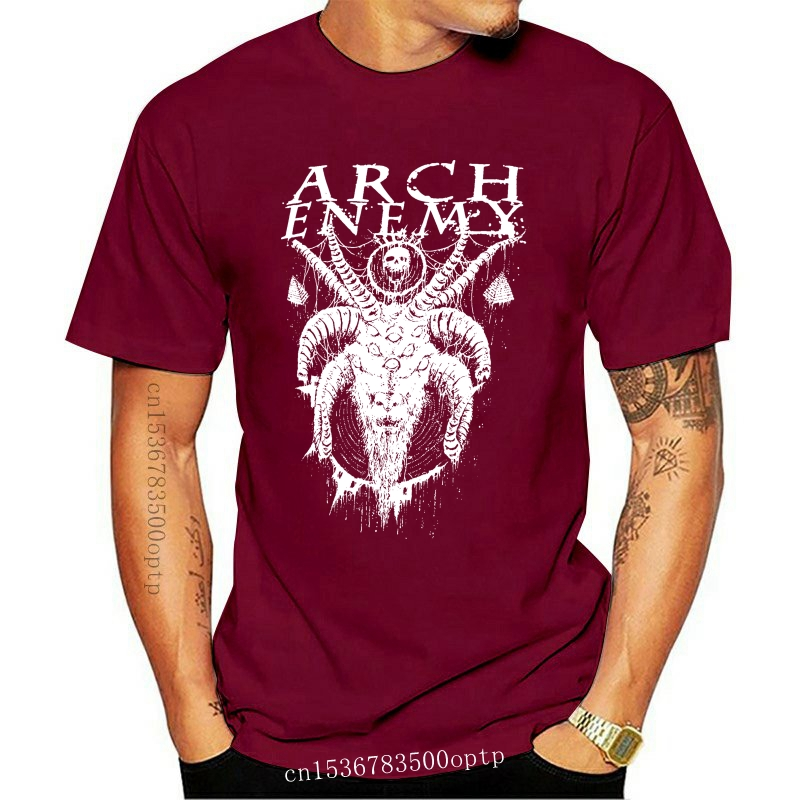 Arch Enemy (Do You See Me Now) Men's T-Shirt Hipster Tees Summer Mens T Shirt