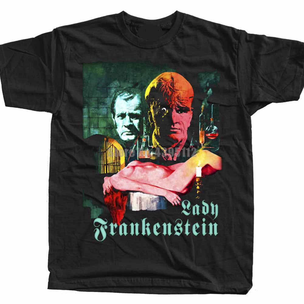 Lady Frankenstein Movie Men'S 3D Print Tshirt Firefighter T-Shirts Fitness Shirt Gay Shirts Presents For Men Yvzgjg image