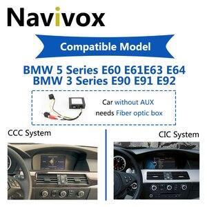 Image 2 - Navivox Android 10.0 Car GPS Radio For BMW 5/3 Series E60 E61 E63 E64 E90 E91 E92 CCC CIC Car Multimedia Player BMW E60 Android