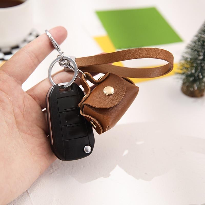 New Fashion PU Leather Keychain Mini Wallet Ladies Car Key Holder Coin Purse Clutch Bag Housekeeper Small Handbag Bag Purses