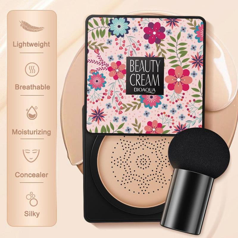 Air Cushion Korean Bb Cream Concealer Moisturizing Makeup Cc Cream Foundation Concealing Breathable Makeup Bare image