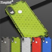 Honeycomb Protection Case For Xiaomi Redmi Note 7 6 5 Pro Case Hybrid Armor Mi 9T 9 Lite CC9 CC9e A3 Redmi 7 K20 Pro Case Cover zokteec luxury flip business wallet case for xiaomi redmi note 4 4x note 5 6 7 pro plus cc9e cc9 k20 pro go a3 phone cover case