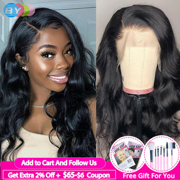 360 Lace Wig Brazilian Hair Wigs For Women Body Wave Lace Wig Human Hair Remy Hair 150% Density BY Hair