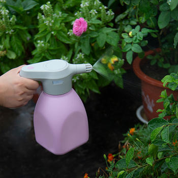 Electric Garden Sprayer 1.5L Electric Plant Mister Spray Bottle for Garden Watering Can Spritzer Automatic Plant Watering Device 4pcs set plastic automatic watering device plant watering irrigation spray bottle 4pcs agricultural watering can