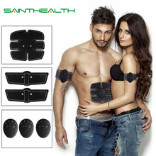 Ensemble de dispositifs pour stimuler les muscles du corps, set de stimulation électrique ABS pour les hanches, abdominaux, aide à lamincissement, 2, 4, 6 ou 8 appareils de massage, vendus sans boîte, vente au détail