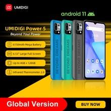 "[In Stock] UMIDIGI Power 5 Global Version 128GB Smartphone Android 11 Helio G25 16MP AI Triple Camera 6150mAh 6.53"" Full Screen"