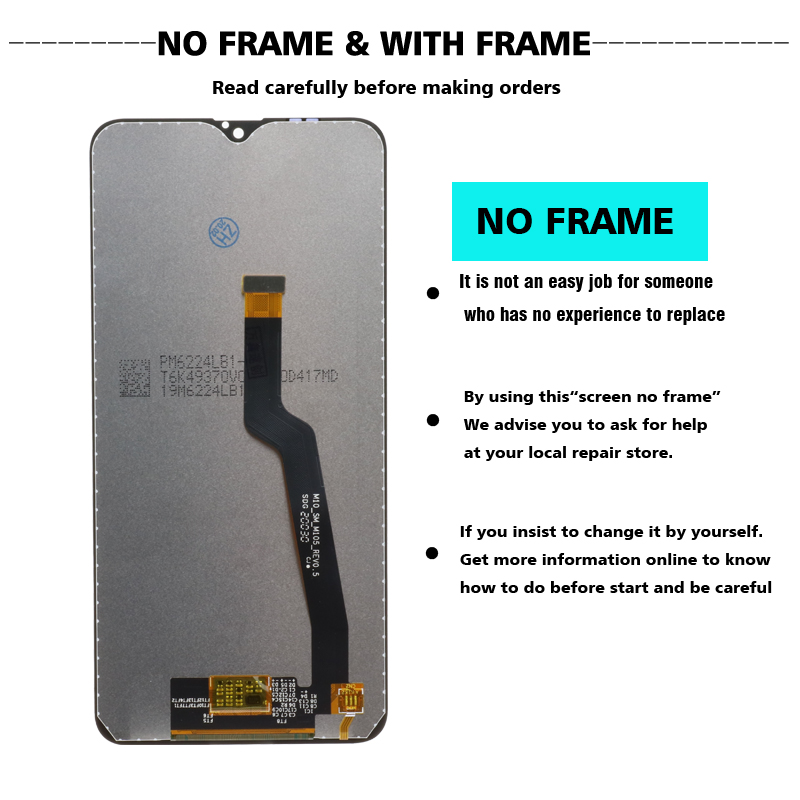 """Image 4 - Original 6.2"""" LCD For Samsung Galaxy A10 A105 A105F SM A105F LCD Display Screen replacement Digitizer Assembly+service packageMobile Phone LCD Screens   -"""