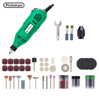 Pinkman furadeira elétrica dremel ferramenta elétrica mini broca moedor gravador ferramenta rotativa máquina de perfuração ferramentas elétricas acessórios