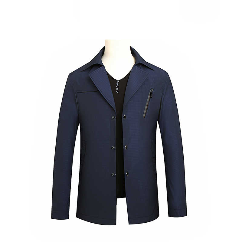 ใหม่มาถึงฤดูใบไม้ร่วงผู้ชายแจ็คเก็ต Trench Coat เสื้อแฟชั่นชายเสื้อผู้ชายเสื้อกันหนาว PLUS ขนาด 8XL 7XL 6XL 5XL 4XL