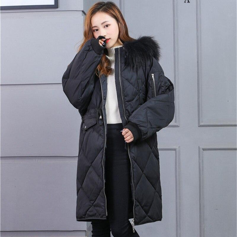 Winter Duck Down Jacket Women Down Parkas Loose Style Women Winter Duck Down Coat Female Thick Warm Outwear Coats LWL1171