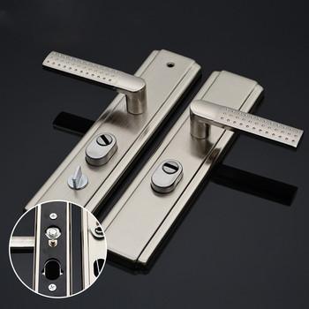 Wielofunkcyjny zagęszczony drzwi uchwyt łatwy w instalacji anti-theft blokada bezpieczeństwa anti-smashing uchwyt blokady drzwi WF9151035 tanie i dobre opinie 55mm Ze stopu aluminium ze stopu aluminium Sypialnia