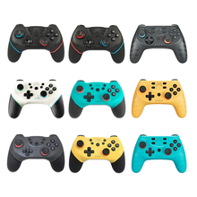 2020 for Nintend Switch Pro Game Console Gamepad Wireless Bluetooth Gamepad Joystick Controller with 6 Axis Handle