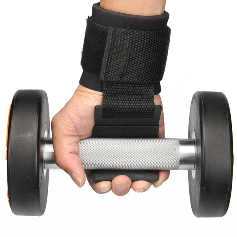 Professional Wrist Support With Hook Anti-slip Gym Arms Strength Training Strap Grip Accessories For Fitness Weight Lifting