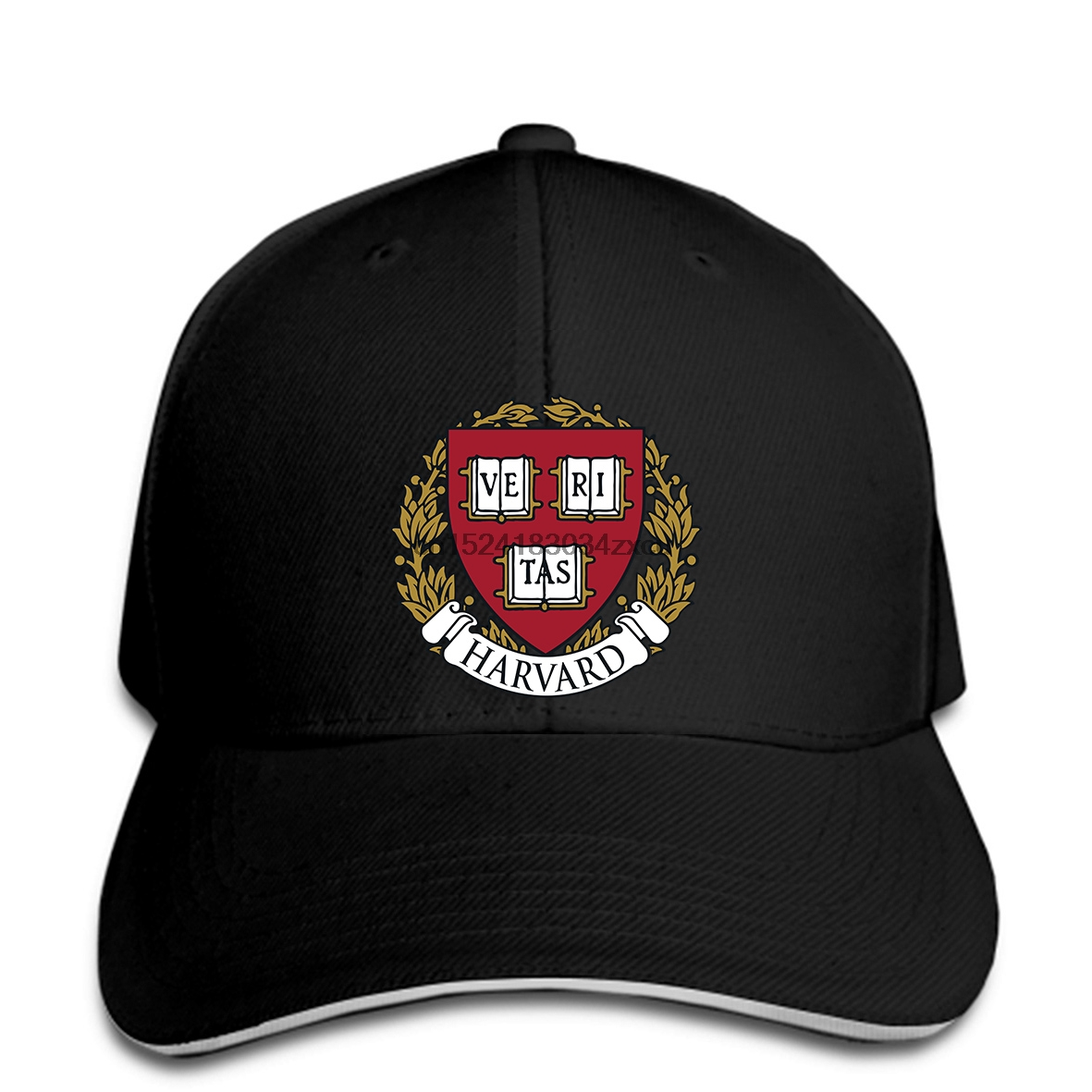 Delicious Baseball Cap New Harvard Famous University Logo Men S Black Snapbackhatpeaked Refreshing And Enriching The Saliva