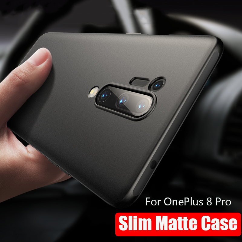 For OnePlus 8 Pro Case Soft tpu Cover for One Plus 8 Soft Matte Silicone Back Cover Case For OnePlus 8 Pro OnePlus8 Phone Cases