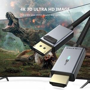 Image 4 - CABLETIME Displayport To HDMI Compatibl Cáp Đèn HDMI Tương Thích 2.0 4K/60Hz Adapter Dành Cho máy Tính Lenovo Dell Macbook Air N356