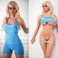 New 170cm silicone sex dolls TPE DOLL cheap price full silicone 3 entity sex doll real person with metal skeleton