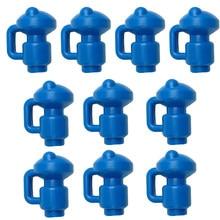Capuchon de poteau de Trampoline en forme de C et G, 12 pièces, capuchon de poteau de Trampoline en forme de C et G, enveloppe de crochet supérieur en filet pour anneaux en Fiber de verre ou en métal