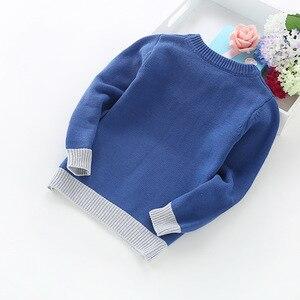 Image 5 - 2020 ילד חדש ילדי בגדי מכוניות דפוס סרוג סוודר תינוק ילד בסוודרים סוודר סריגי 2 5T ילדים ילדים סוודרים