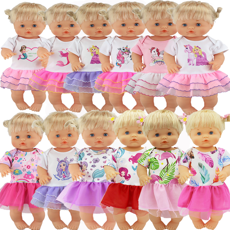 New Style Color Dress Set  Fit 42 Cm Nenuco Doll Nenuco Y Su Hermanita Doll Accessories