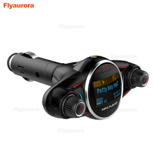 все цены на Bluetooth FM Transmitter Car MP3 Player Handsfree Car Kit 2-USB Charger Support TF Card Display Charger Wireless Music Audio онлайн