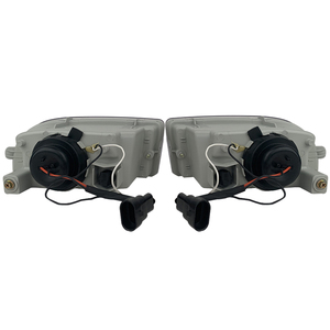 Image 2 - A pair Modified front fog lamp For Toyota Land Cruiser Fj100 Front Bumper lamp Daytime Running Light With Lens