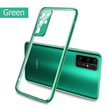 For Huawei Honor 30 Case Plating Soft Clear Phone Cover For Honor 30 Pro Plus Premium 30S Honor30 Pro Honor 20 Nova 5T Cases