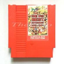 O 143 melhor de todos os tempos cartão de jogo de vídeo para 8 bit 72 pinos console do sistema ue/eua versão universal jogador de jogo