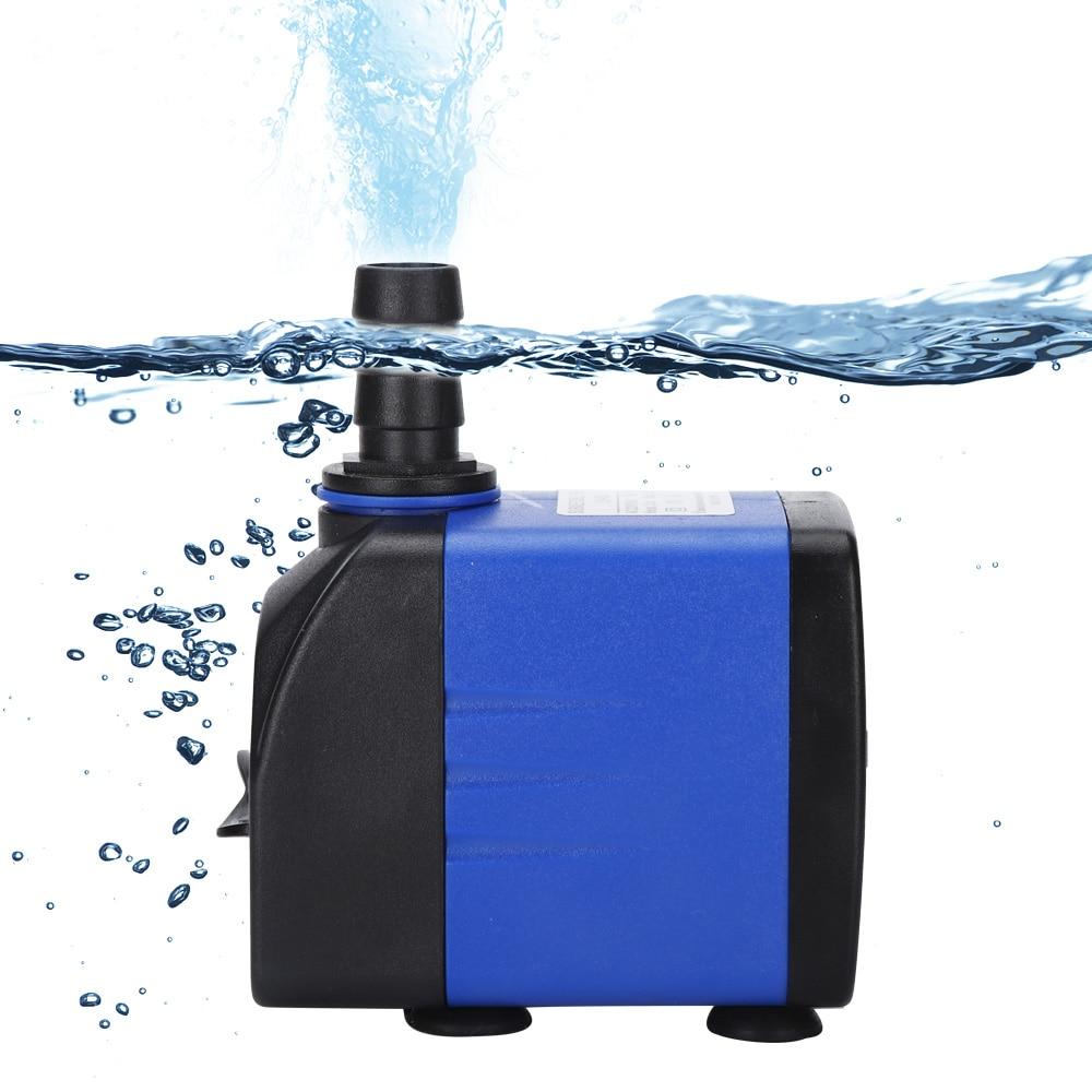 220-240v Ultra-Quiet Submersible Water Fountain Pump Filter Fish Pond Aquarium Water Pump Tank Fountain 3.5/6/10/15/25W