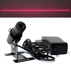 650нм 100 мВт красный лазерный модуль локатора 22x70 мм с охлаждающим держателем и Европейским адаптером