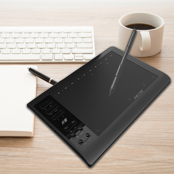 G10 10x6 inch Digital Tablet 8192 Levels Graphic Drawing Tablet with Battery-Free Passive Pen 1
