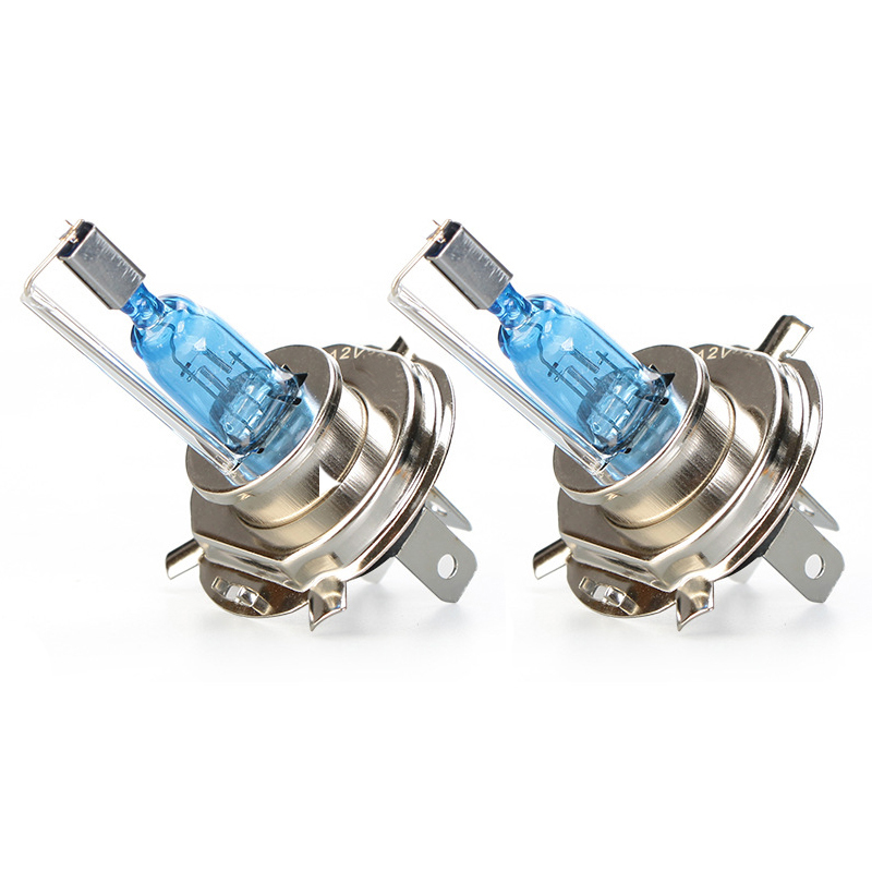 2 PCS Newest super bright 55w car H4 <font><b>H7</b></font> H11 H1 9005 9006 HB3 HB4 <font><b>Halogen</b></font> lamp Original socket auto headlight bulb 5500k white image