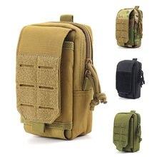 Походная тактическая сумка унисекс 1000d с системой «Молле»