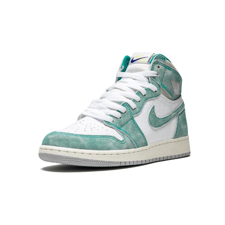 Nike Original New Arrival Air Jordan 1 Retro High OG GS Aj1 Men's Skateboarding Shoes Outdoor Sports Shoes # 575441-311